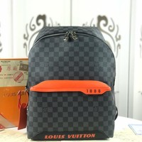Kuyou Gb229925 Louis Vuitton Lv N40157 Damier Cobalt Canvas Bag Damier Cobalt Race Discovery Backpack Pm 37x 40x 20cm