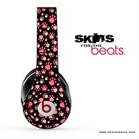 Cute Paw Printed Skin for the Beats by Dre