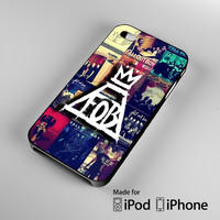Fall Out Boy logo Collage iPhone 4 4S 5 5S 5C 6, iPod Touch 4 5 Cases