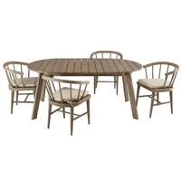 Dexter Dining Set - Table + 4 Chairs