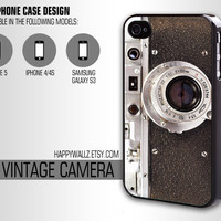 Iphone Case Old Vintage Camera Iphone 4 case cool awesome Iphone 5 case Iphone 4s case Samsung Galaxy S3 Case