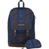 JanSport Baughman Backpack - 1525cu in Navy Moonshine, One Size