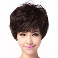 New Sexy Women's Ladies Brazilian Bob Wigs Fluffy Curly Wigs Fluffy Short Curly Natural Hair Wigs Synthetic Full Lace Wig