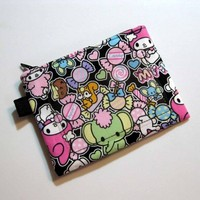 Zipper Fabric Pouch coin - MY MELODY - cute Japanese. Pink, too. | Nancym4 - Bags & Purses on ArtFire