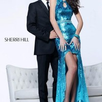Sherri Hill Dress 8512 at Peaches Boutique