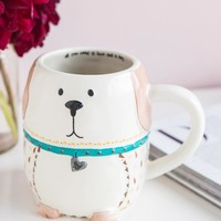 All You Need Is Love And A Dog Folk Art Mug