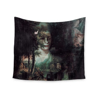 """Suzanne Carter """"Lady Grace"""" Dark Wall Tapestry"""