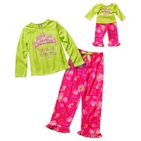 Dollie & Me® Pajama Princess 4-Piece Pajama Set