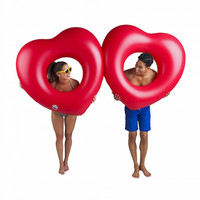 Bigmouth Giant Two Hearts Pool Float