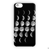 Moon Phases Lunar Phases Explained For iPhone 5 / 5S / 5C Case