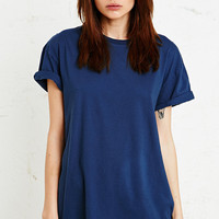 Sparkle & Fade Oversized Roll Sleeve Tee - Urban Outfitters