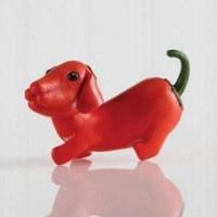 Home Grown - Figurine Red Pepper Dachshund
