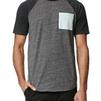 On The Byas Carlo Raglan T-Shirt - Mens Tee