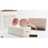 DIOR tide brand men and women retro square sunglasses ocean lens polarizer #6