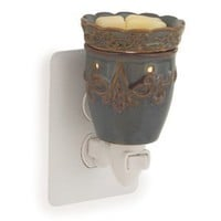 Candle Warmers Pluggable Fragrance Warmer, Imperial Plum