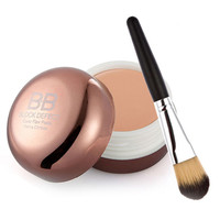 Cosmetics Blemish BB Cream Concealer Smooth Moisturizing Naked Face Cover Base Foundation Makeup Brush Contouring Makeup
