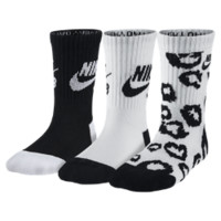 Nike SB Cheetah Spots Crew Kids' Socks (3 Pair)