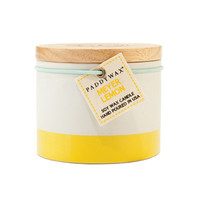 Hand-Poured Soy Wax Candle - Lemon