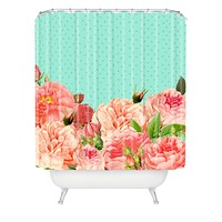 Allyson Johnson Sweetest Floral Shower Curtain