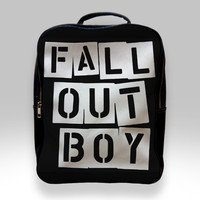 Backpack for Student - Fall Out Boy Logo Bags