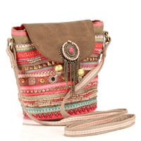 Pushkar Mini Pouch | Multi | Accessorize