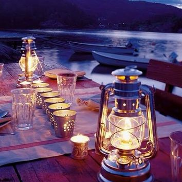 Dinner by the Lake