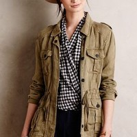 Belted Military Anorak