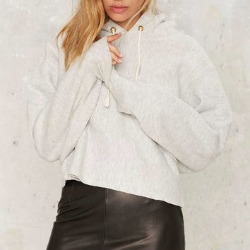 After Party by Nasty Gal You're a Champ Cropped Hoodie