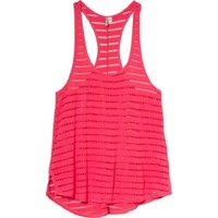 Rip Curl Open Road Tank Top - Women's Hot Coral, S