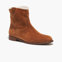 The Otis Boot in Shearling
