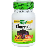 Nature's Way Activated Charcoal - 280 Mg - 100 Caps