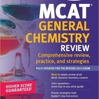Kaplan MCAT General Chemistry Review Notes