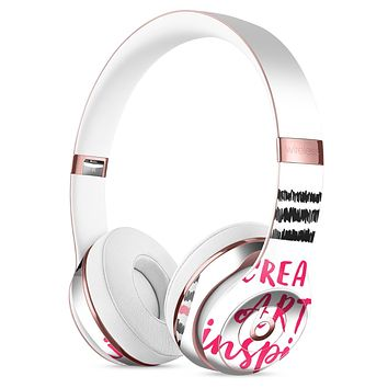 Create Art Inspire Full-Body Skin Kit for the Beats by Dre Solo 3 Wireless Headphones