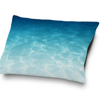 Blue Ombre Waters - Pet Bed
