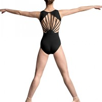 JFM Basket Weave Sunray Back Leotard / Bloch