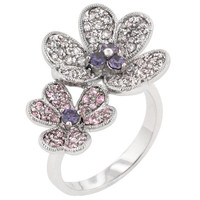 Blossom Fashion Ring, size : 10