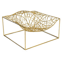 """Limited Edition """"Ad-Hoc"""" Gold Chair by Jean-Marie Massaud"""