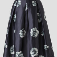 Meet Me At The Ball Midi Skirt