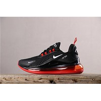 Newest Nike Air Max 720 Black/ Red Running Shoes