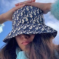 Dior Women Fashion Casual Hat Cap Bucket hat
