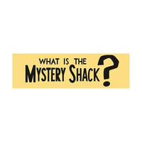 Gravity Falls - What is the Mystery Shack? - Bumper Sticker