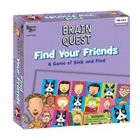 Brain Quest Find Your Friends Game by University Games (Mystery)