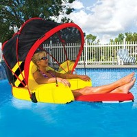 Cabriolet Pool Lounger | Outdoor Living | SkyMall