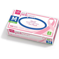 Generation Pink Pearl Nitrile Exam Gloves