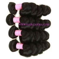 10A Loose Wave Weave 4bundles Brazilian Hair Extensions