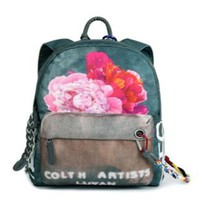 CC Backpack 2016 New Arrival Flower Printing Women Backpacks For Teenage Girls Fashion School Travel National Style Canvas Bag