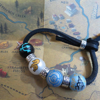 percy jackson necklace camp half blood bracelet by TotallyObsessed