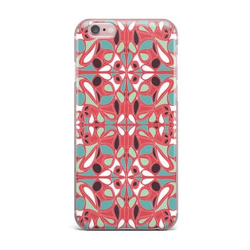 "Miranda Mol ""Stained Glass Pink"" iPhone Case"