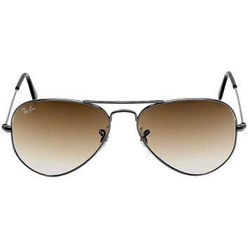 Cheap Ray Ban Original Aviator Brown Gradient Sunglasses RB3025-00451-55 outlet