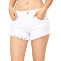 Muse Fray Denim Shorts